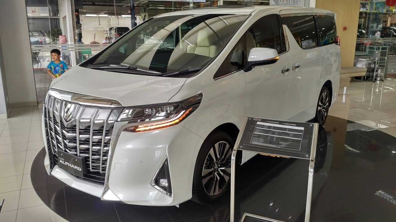 All New Alphard 2018 Harga Cicilan Grand Veloz In Depth Tour Toyota G 3rd Gen Facelift Indonesia