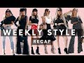 Weekly Street Style | How to Dress like a fashion blogger Lookbook | Maria De La Cruz