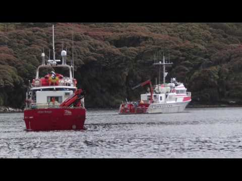 IXSURVEY Australia Case Study    Auckland Islands   New Zealand Marine Hydrographic Survey