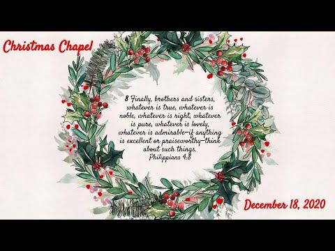 Christmas Chapel Beacon Christian School 2020