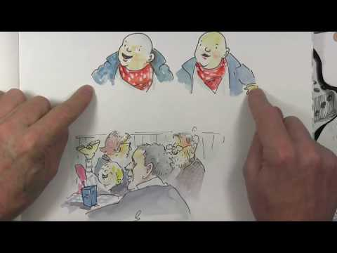 Wigtown Book Festival   Shoo Rayner Sketchbook 2016