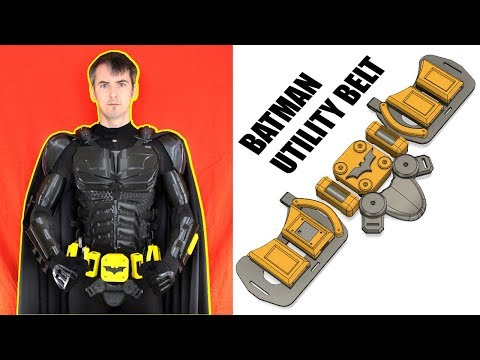 Batman Cosplay Suit #4 with Ninjaflex | James Bruton