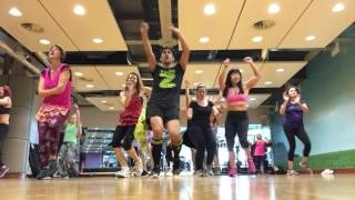 Lo que Dios Quiera Fanny Lu Ft Gente de Zona choreography by Zumba Papi UK zumba fitness