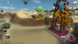 Modnation Racers: Road Trip Vita Gameplay