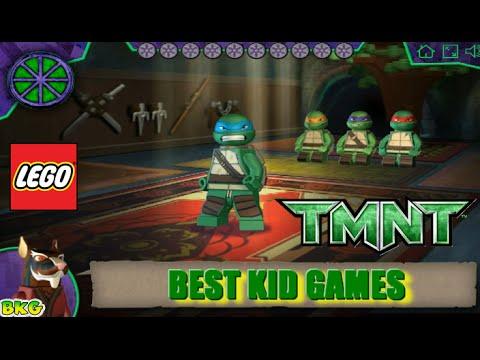 LEGO Teenage Mutant Ninja Turtles Gameplay Episode - Best Kid Games ...