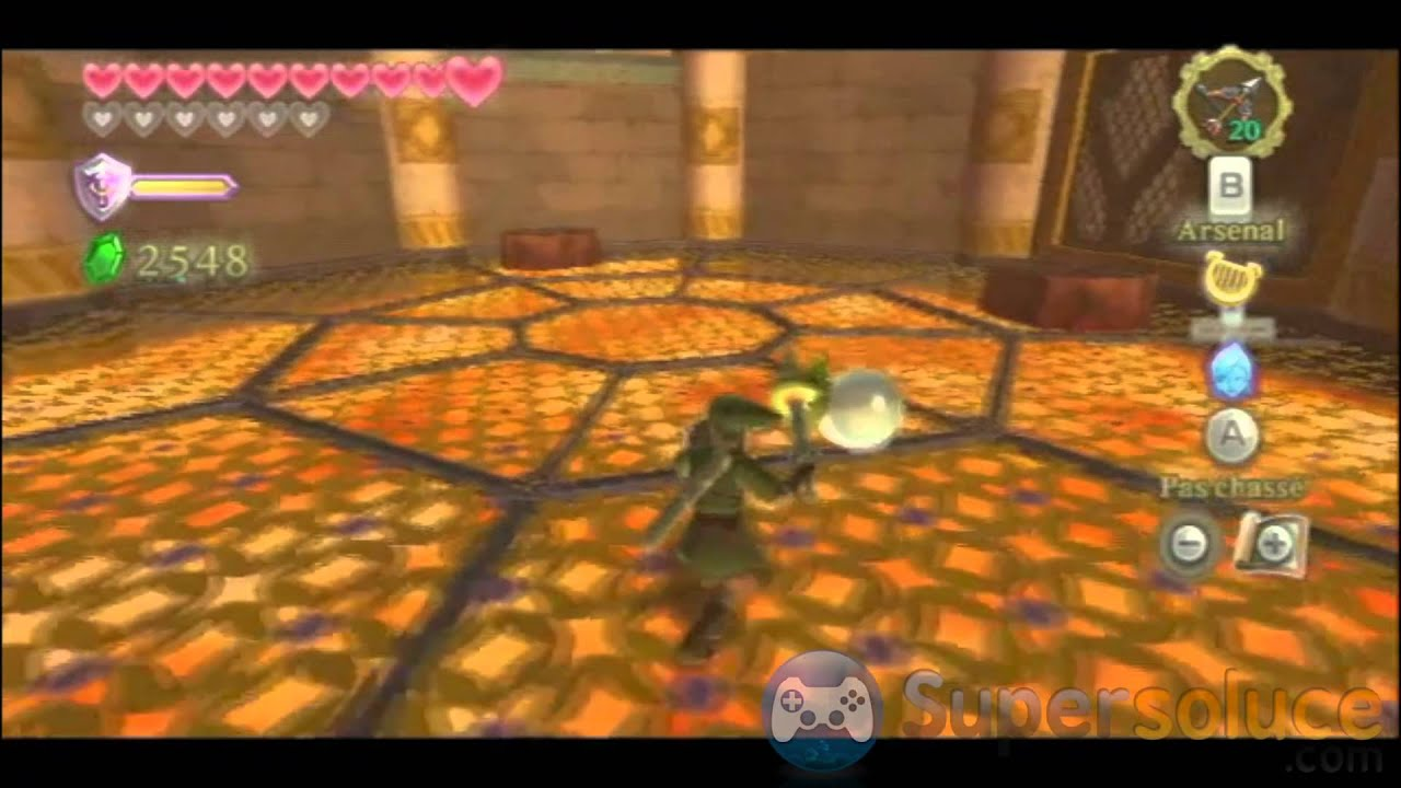 soluce zelda skyward sword sanctuaire ancien part2 youtube
