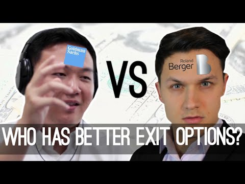 Investmentbanker Vs. Consultant: Who Has Better Exit Options?