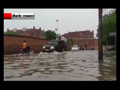 Rajasthan: Rescue teams use boats instead of camels in Bikaner
