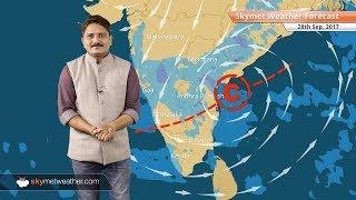 [Hindi] 28 सितम्बर के लिए मौसम पूर्वानुमान: बिहार, झारखंड में होगी बारिश; दिल्ली में शुष्क मौसम