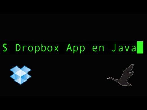 Développer une App Dropbox en Java: dir2server prototype