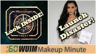 Makeup Minute | CARLI X BH COSMETICS Launch Goes WRONG! + LORAC Pirates of the Caribbean!
