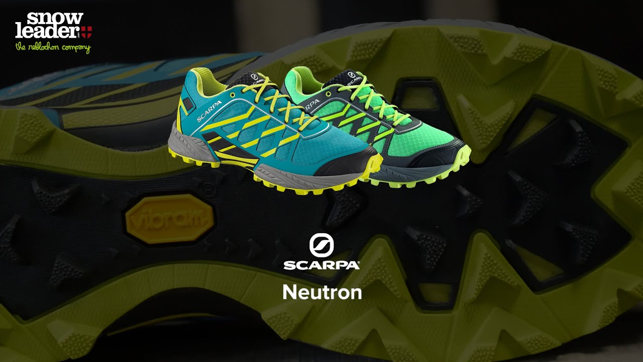 1bac8366cfe Scarpa   Neutron - Chaussure de trail - Snowleader.com - YouTube