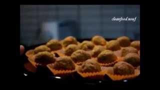 Carrot Cake Bites                 كرات كيكة الجزر الصحية
