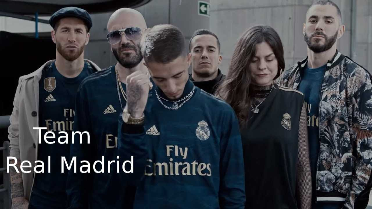 Vacío construir simpático  Real Madrid official music video If You Create The Noise, the new away kit  by adidas - YouTube