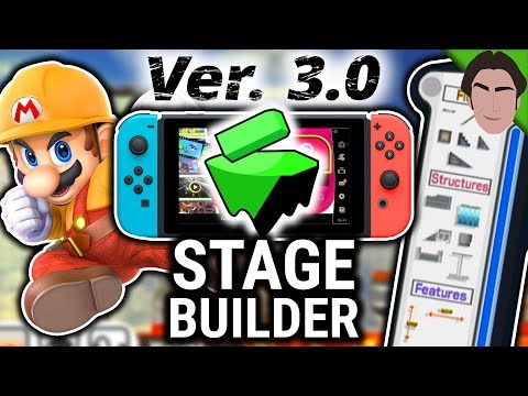 Stage Builder might be coming to Smash Bros Ultimate 3.0 thumbnail