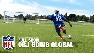 odell beckham jr the global icon   obj going global to munich germany full show   nfl360