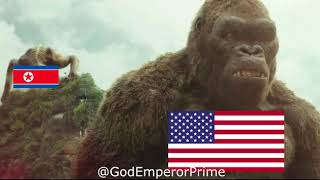 America vs North Korea and the Islamic State | Kong WW3 Meme