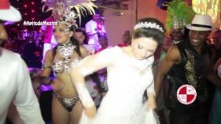 Buffet Espaço Grenah Show de carnaval bateria escola de samba passistas Apito de Mestre