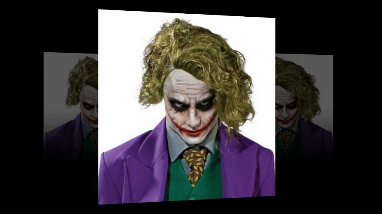 heath ledger dark knight joker costume ideas