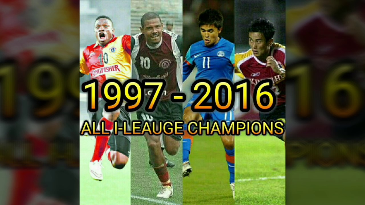 I-LEAGUE Champion History 1997-2016 (Indian National Football League)