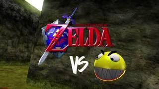 Zelda vs Pacman
