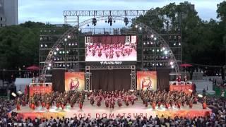 2015.8.30名古屋市で開催されました第17回にっぽんど真ん中祭り 本祭二...