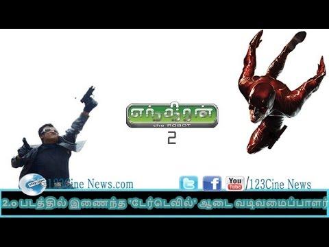 Daredevil Cosutme Designer Joins 2.o| 123 Cine News | Tamil Cinema News Online