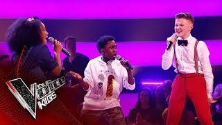 Raphael, Rosa and the Mackman Perform 'Do Your Thing' | The Battles | The Voice Kids UK 2019