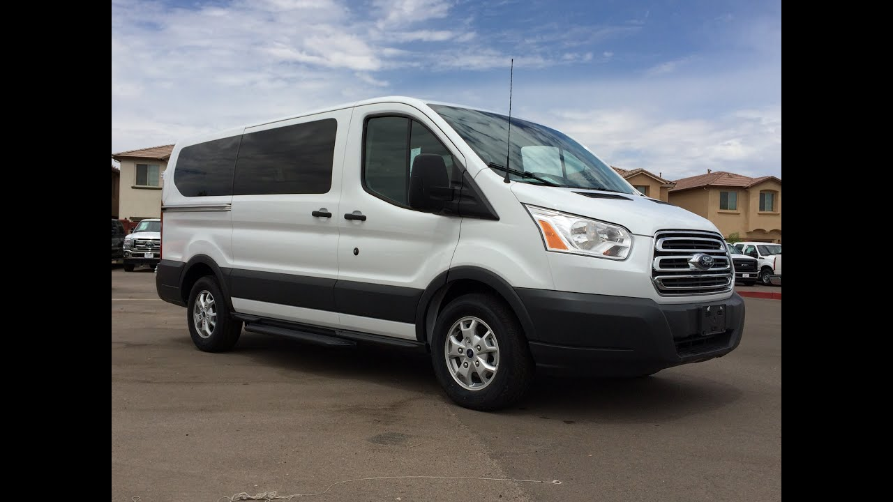 15 Seater Van >> 2015 Ford Transit T-150 8-Passenger Wagon Walkaround - YouTube