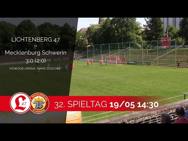 Oberligateam: Spielszenen Lichtenberg 47 – FC Mecklenburg Schwerin