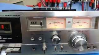 Speed calibration of a cassette deck