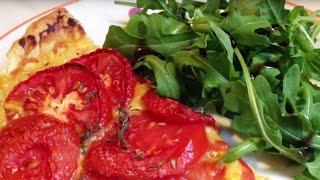 Tarte à La Tomate à La Provençale - Les P'tites Recettes