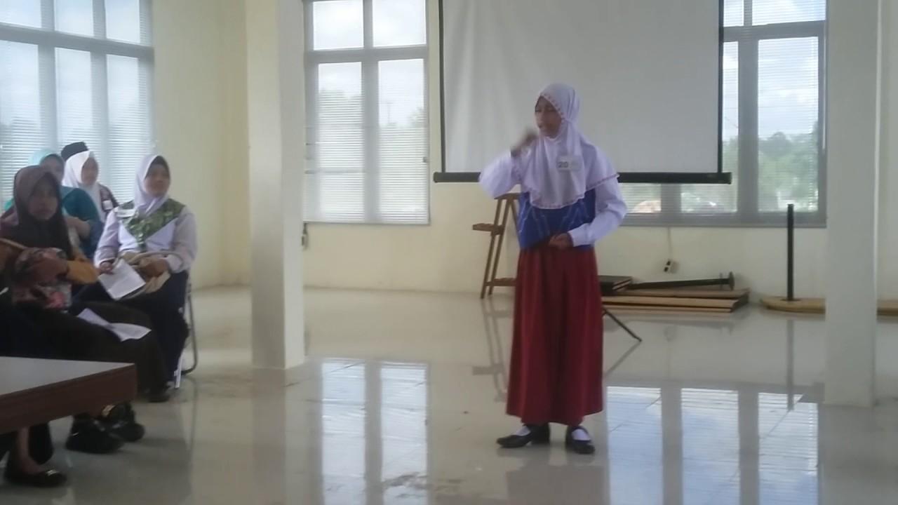 Juara Pidato Dinas Lingkungan Hidup Kab Banjar 2017 Youtube