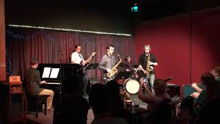 "Gambar cover ""Take the A Train,"" performed by Moderately Adequate, 9/7/2017, at the Jazz Station, Eugene, OR."