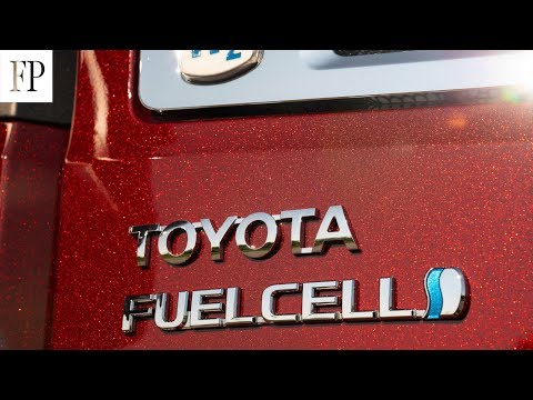 Toyota's big bet on hydrogen fuel cell technology