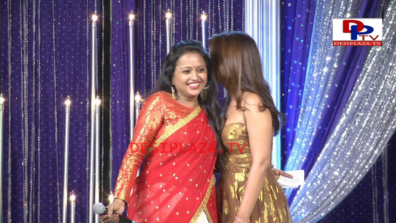 Actress Shreya Felicitation at America Telugu Convention - Dallas - Texas