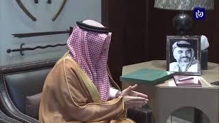 الملك يتسلم رسالة من خادم الحرمين الشريفين (17-4-2019)