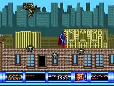 TPGR : Superman (Sega Genesis/ Mega Drive)