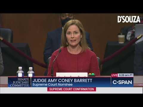 Amy Coney Barrett Responds to Attacks on Family & Faith, Makes Dems Look Foolish