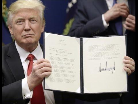 Trump MSM Ban - EO Immigration Halt - Illegal Immigration