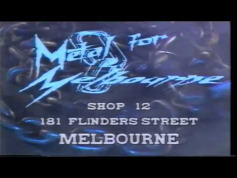 Metal For Melbourne TV Commercial - Late 80's