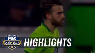 Borja mayoral goal for wolfsburg vs werder bremen | 2016-17 bundesliga highlights