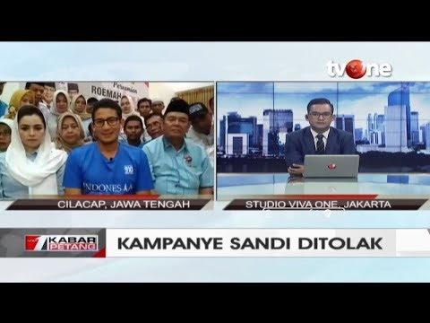 Kampanye Ditolak, Begini Klarifikasi Cawapres Sandiaga Uno... Mp3