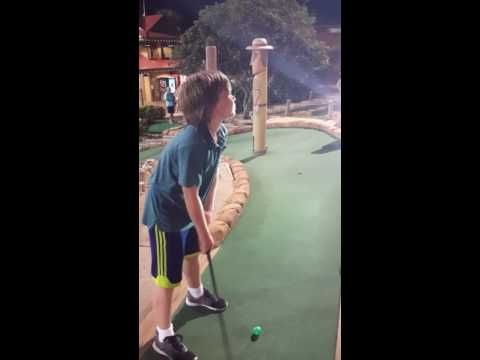 Ethan's Blind Hole In One