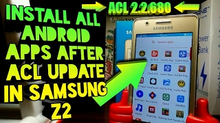 Samsung Z2 Old ACL V2.2.680 Working 100%