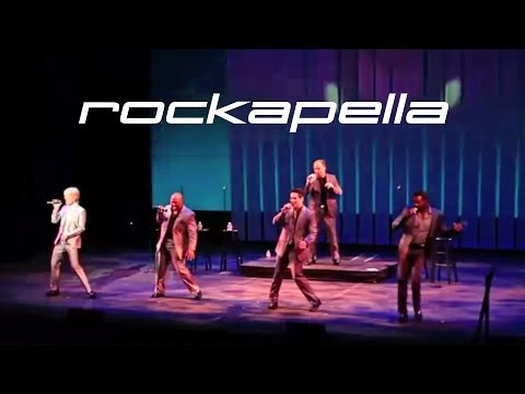 Rockapella takes their MoTown flavor to Mamaroneck's Emelin Theater Saturday for 3 and 8 p.m. shows.
