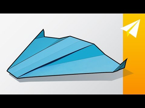 Amazing Boomerang Paper Airplane Tutorial — How to Make a Cool Paper Glider — Apollo