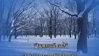 ЗИМНИЙ САД сл А Бандорина муз В Строговой исп автор музыки 2011