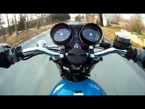 Kawasaki S2A 350 New Years Eve Run #6