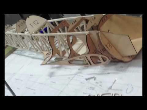 BIG RC HOMEMADE PLANE SUKHOI 26 BUILT IN BALSA WOOD
